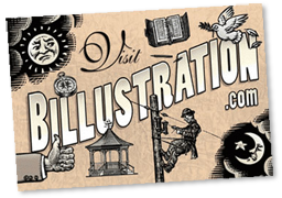Billustration Postcard