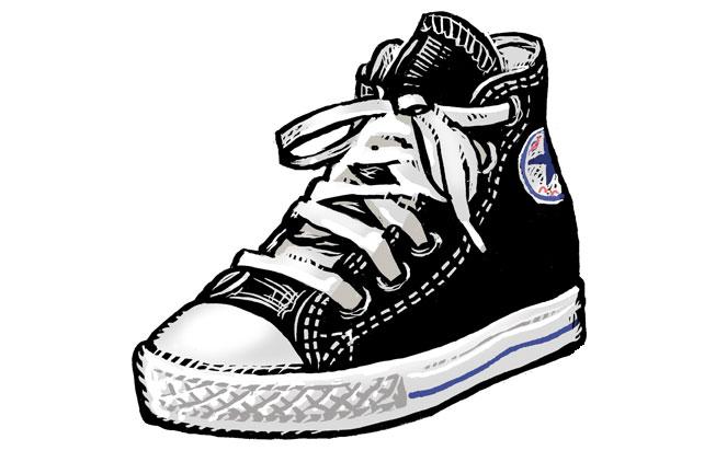 converse shoes origin