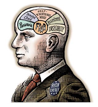 The Editorial Illustration of Bill Russell